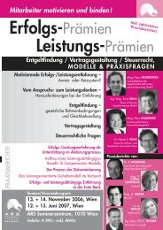 Forum Erfolgs-Leistungsprämien_5.qxp - Steuer & Service