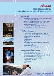 Download Broschüre AkuLap - Stratenschulte Messtechnik