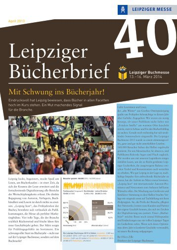 Download Bücherbrief Nr. 40 als PDF - Leipziger Buchmesse