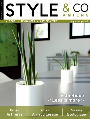 Esthétique « Less is more » - styleandco