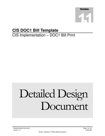 Template Bills - DDS - Revision 1.2