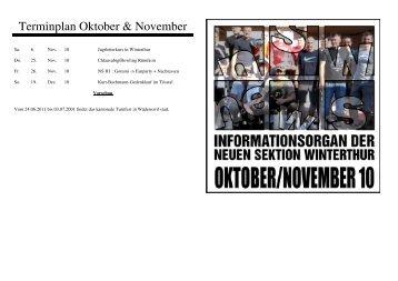 NS-News Oktober / November 10