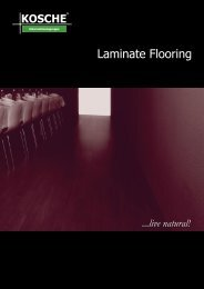 Laminate Flooring - Kosche
