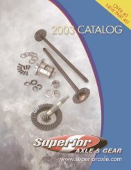 Motive Gear 26042818 Axle Shaft