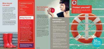 Protect yourself: Fight fraud and identify theft with Vodafone [PDF ...