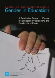 Exploring and Understanding Gender in Education: A Qualitative ...