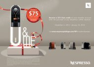 Nespresso carte_M-NEP1207_5_YEP12.indd - Sears Canada