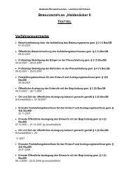 """BEBAUUNGSPLAN """"Haldenäcker II TEXTTEIL - Gemeinde ..."""