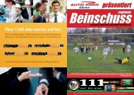 präsentiert - TSV Hohenthann-Beyharting