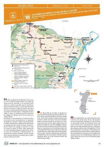 Les bords du rhin et La vaLLée de La Lauter - Tourisme en Alsace