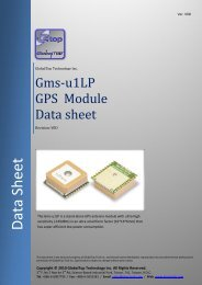 Gms-d1 GPS Antenna Module Data Sheet