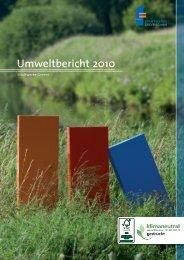 Downloadversion Umweltbericht 2010 - Stadtwerke Greven