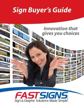 Make FASTSIGNS® your complete sign and graphic ... - signSearch