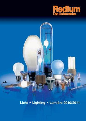 Licht • Lighting • Lumière 2010/2011 - lampia AB