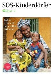 SOS-Kinderdörfer Infobroschüre 2013