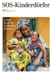 SOS-Kinderdörfer Infobroschüre 2012