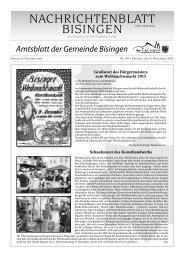 49 Umbruch_Leerumbr.qxd - Gemeinde Bisingen