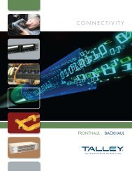 Download Talley Connectivity Brochure