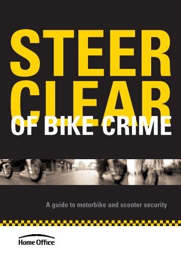 Steer clear of bike crime - Thames Valley Alert