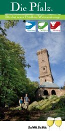 Die Pfalz. - Donnersberg Touristik