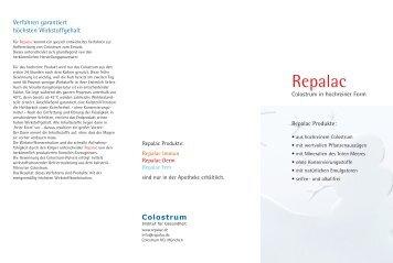 Colostrum - Repalac
