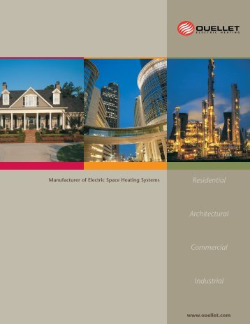 Residential Architectural Commercial Industrial - Ouellet Canada
