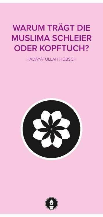 warum trägt die muslima schleier oder kopftuch? - Ahmadiyya ...
