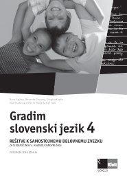(posodobljena izdaja 2009) - rešitve samostojnega delovnega zvezka