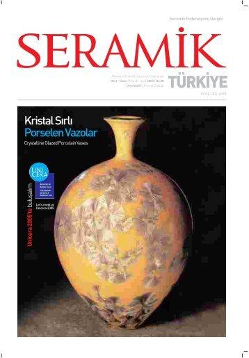 Kristal S›rl› Porselen Vazolar - Seramik Federasyonu