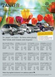 Kundenmagazin Frühjahr 2010 - Autohaus Zanker in Günzburg