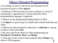 Object Oriented Programming - Staff.city.ac.uk