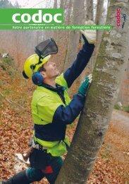 votre partenaire en matière de formation forestière - Codoc