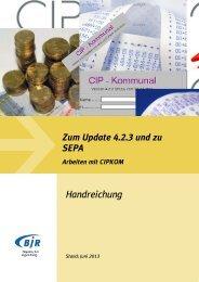 Einführungsunterlagen zum Update 4.2.3 - Bayerischer Jugendring