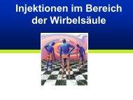 Injektionen im Bereich der Wirbelsäule - Vereinigung Zuercher ...