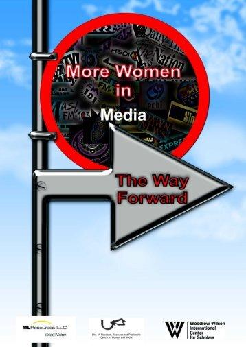 More Women in Media: The Way Forward - Uks