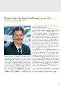 Konjunkturbericht der Region Schaffhausen - Kantonalbanken - Seite 5