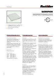 BASWAphon Inspektionsluge - Rockidan