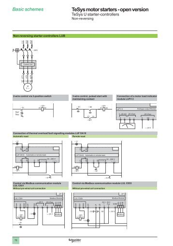 tesys u starter controlers part 2 schneider electric?quality\\\=85 lc1d12 telemecanique square d tesys contactor by schneider schneider lc1d25 wiring diagram at webbmarketing.co