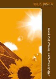 Emissionsprospekt - shedlin