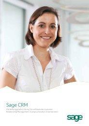 Sage CRM - Sage Schweiz AG