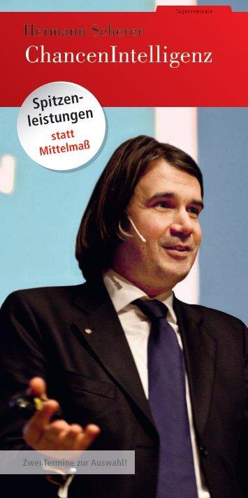 ChancenIntelligenz - SchmidtColleg GmbH & Co. KG