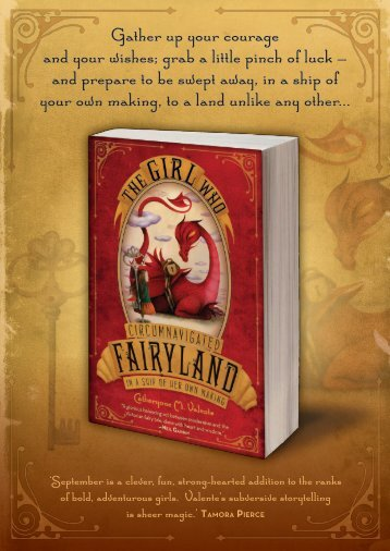 The Girl Who Circumnavigated Fairyland in a Ship of ... - Walker Books