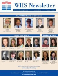 Wound Healing Society Newsletter Volume 4 Issue 2