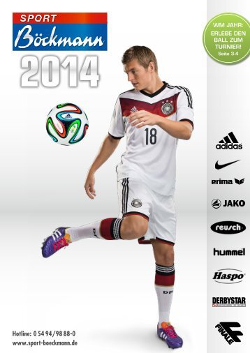 Sport Böckmann Katalog 2014