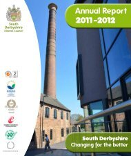 Annual Report 2011-2012 - South Derbyshire District Council