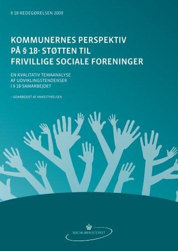 Paragraf 18 redegørelse, kvalitativ.pdf - Social