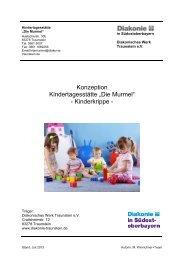 Download Konzeption - Diakonisches Werk Traunstein e.V.