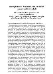 GSP 2-10 - Ideologien über Konsum und Konsument - Neoprene