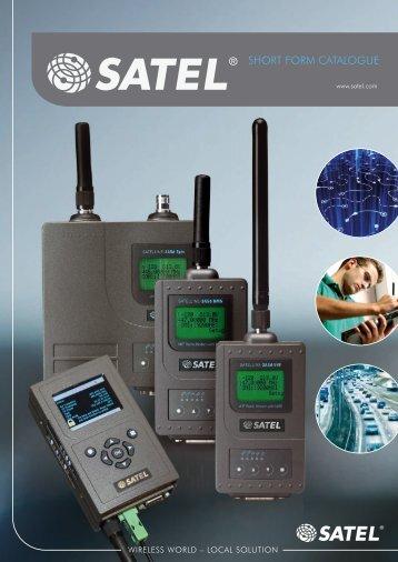 Short forM Catalogue - Satel Norge