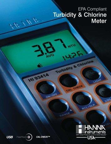 Turbidity & Chlorine Meter - FarrWest Environmental Supply